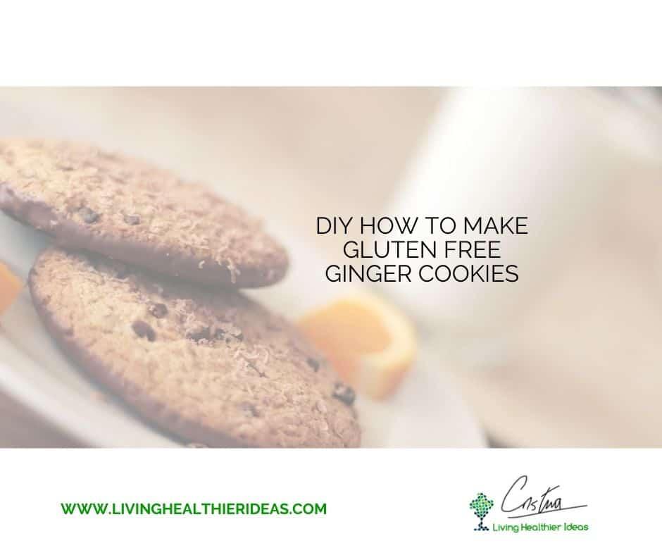 DIY How to make gluten free cookies