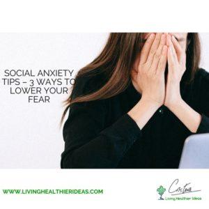 Social anxiety tips