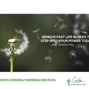 Remove past life blocks to step into your power today