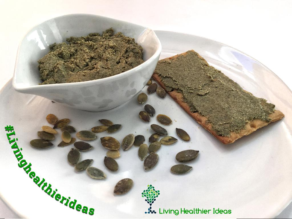DIY How to make raw pumpkin seed butter